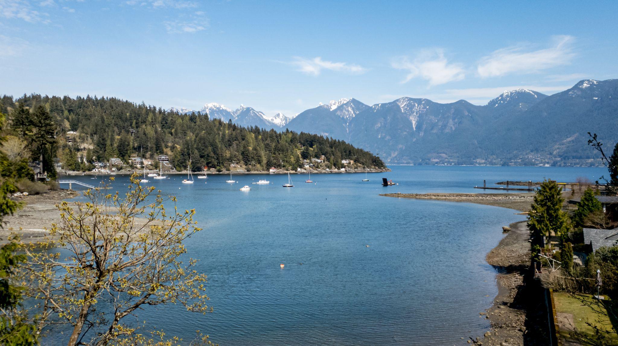 Deep Bay, Bowen Island, BC, Canada