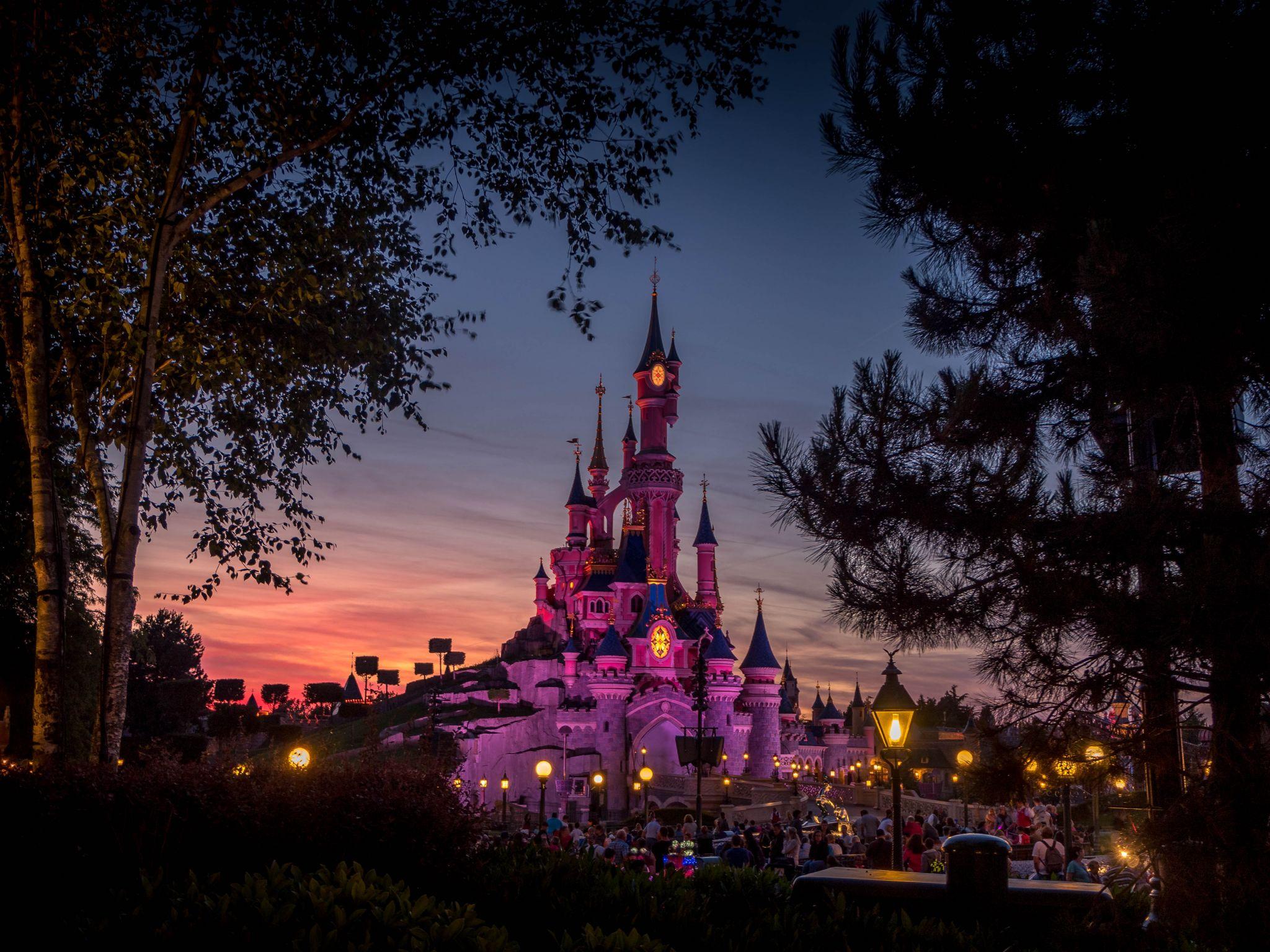 Disneyland Paris - Disney Castle, France