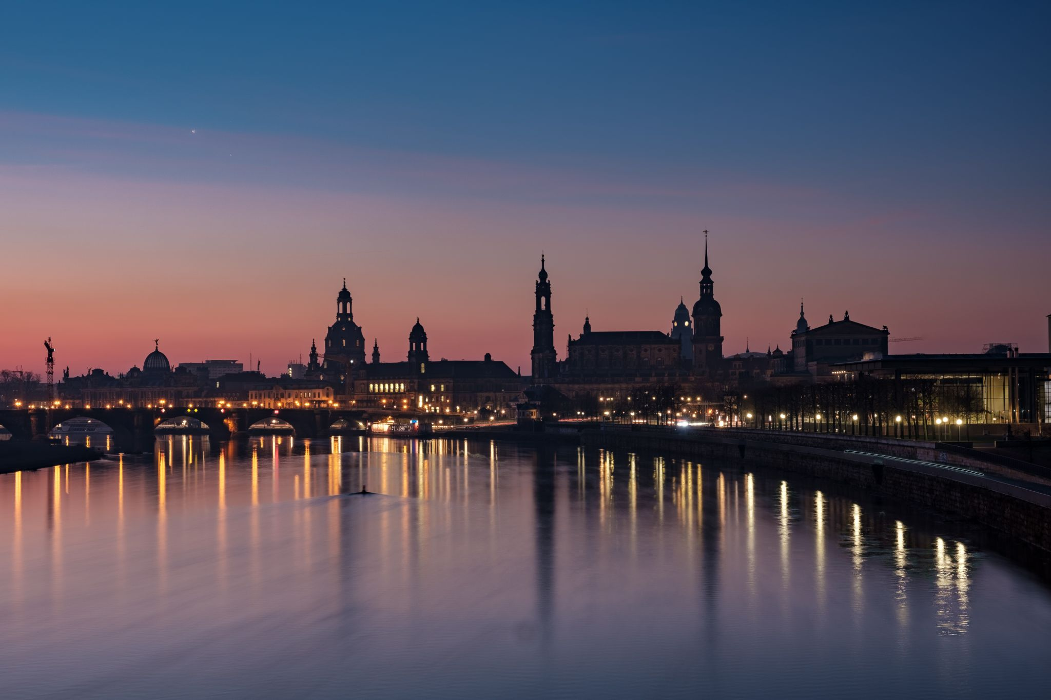 Dresden Marienbrücke, Germany