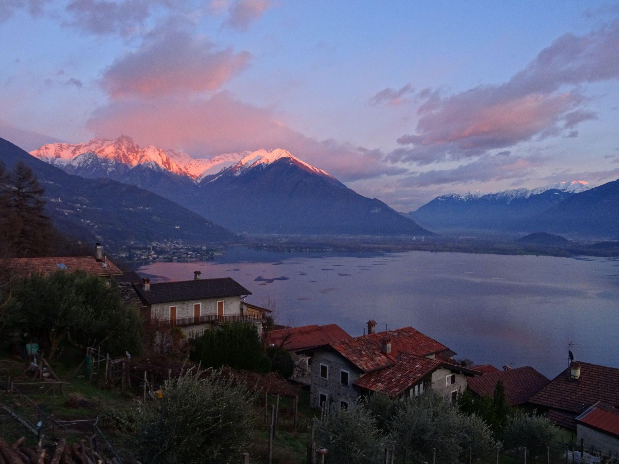 End of Via Antonio Carraccioli, Italy