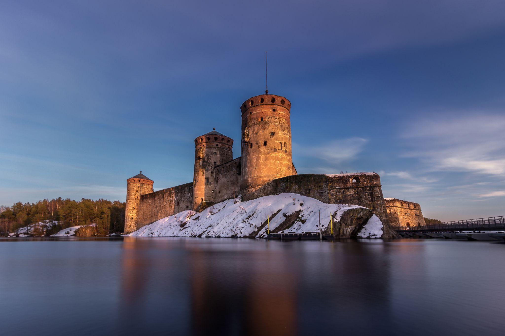 Fortress of St. Olav, Savonlinna, southern Finland, Finland
