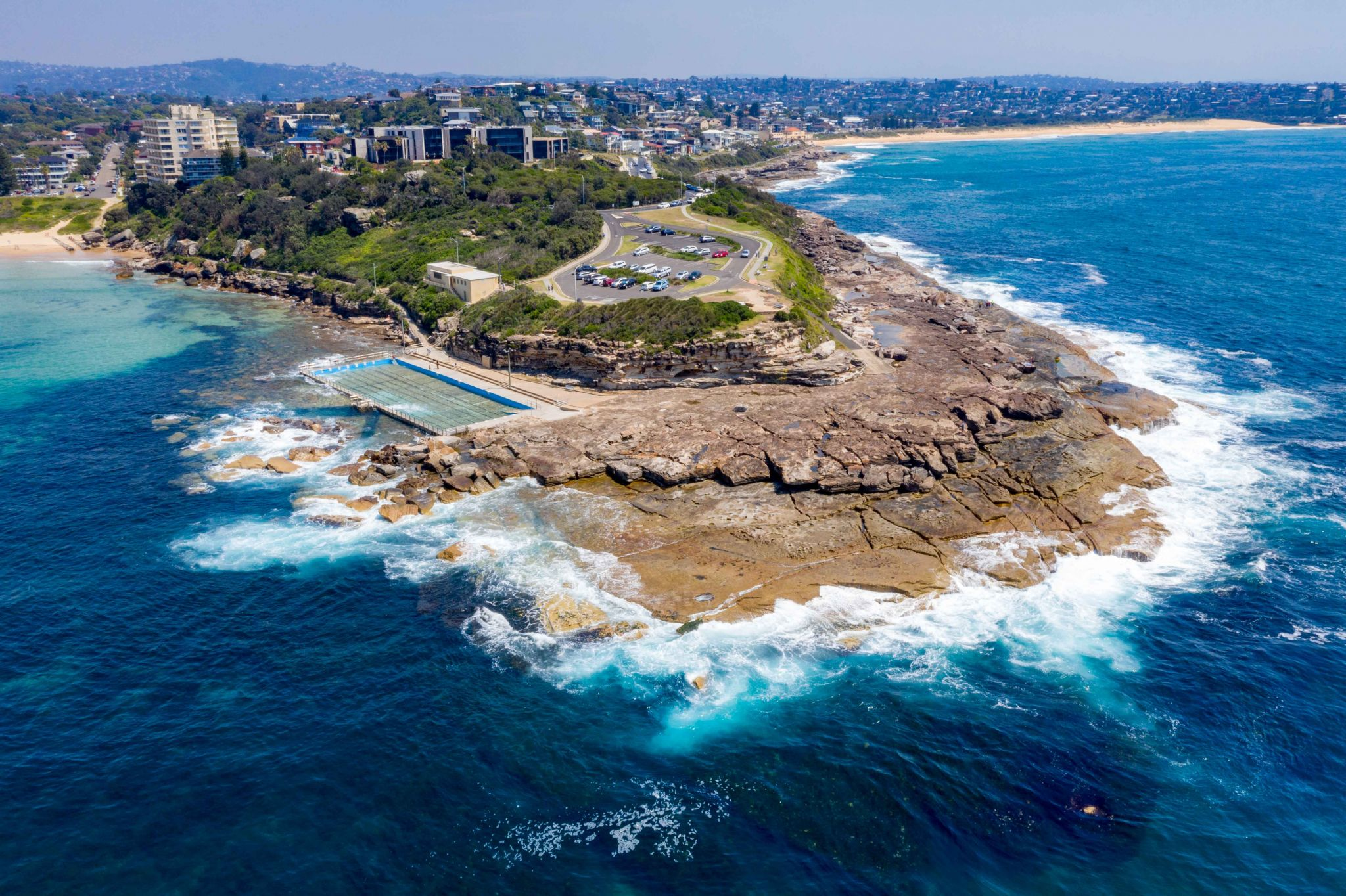 Freshwater Ocean Pool and headland Sydney New South Wales, Australia