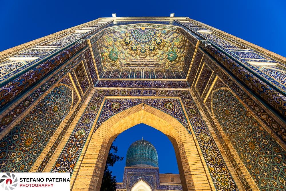 Gur Emir Mausoleum, Amir Temur Mausoleum, Samarkand, Uzbekistan