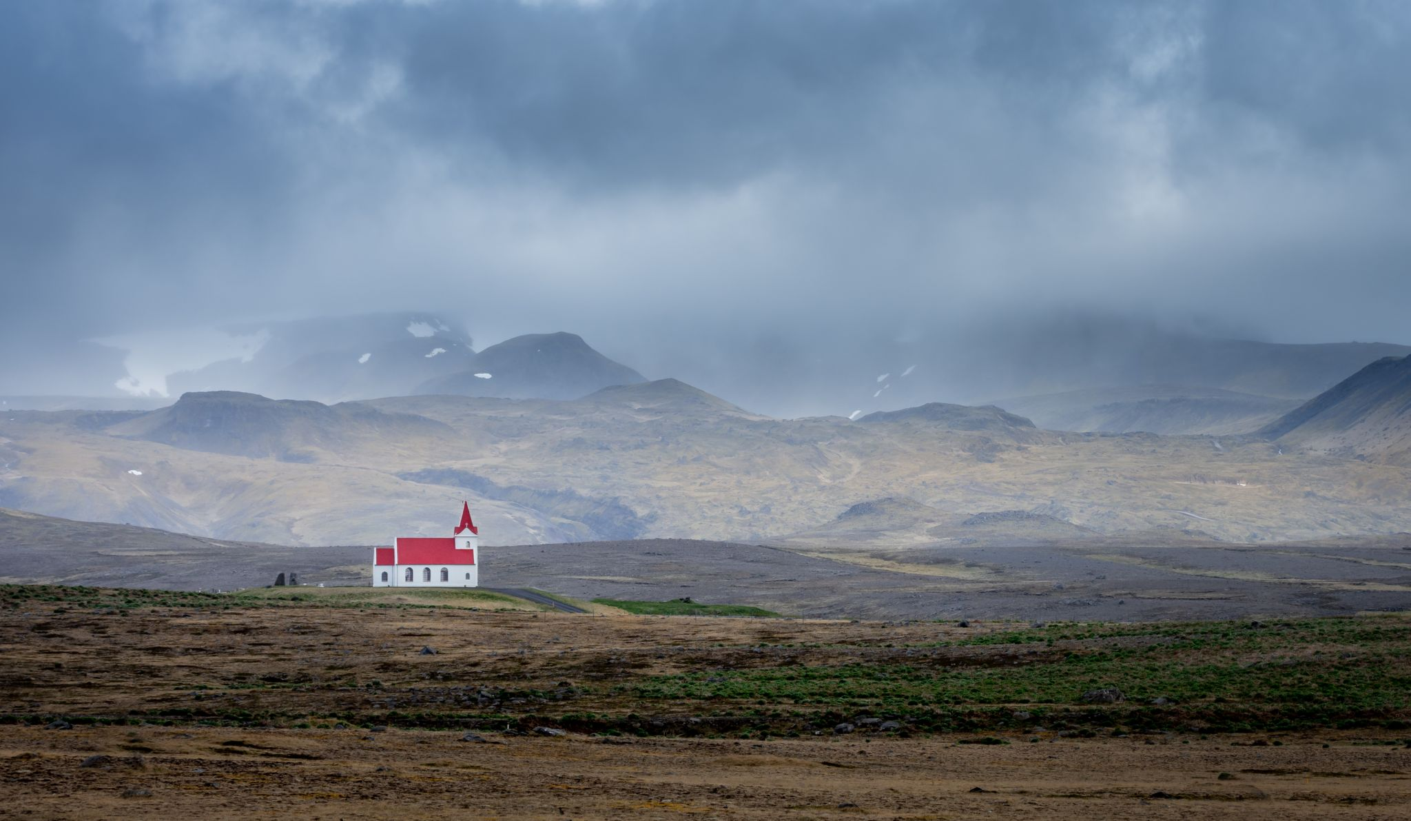 Ingjaldsholskirkja, Iceland