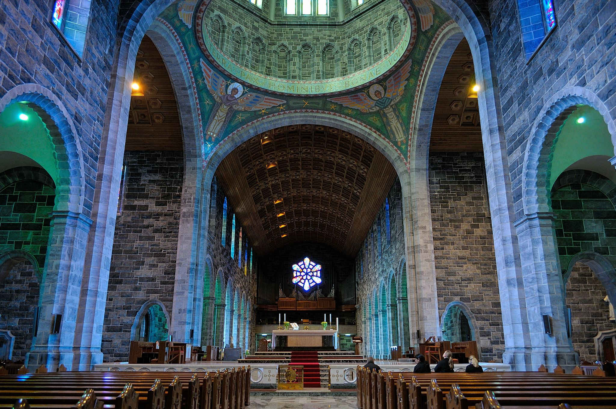 Interior of Galway Cathedral, co Galway., Ireland