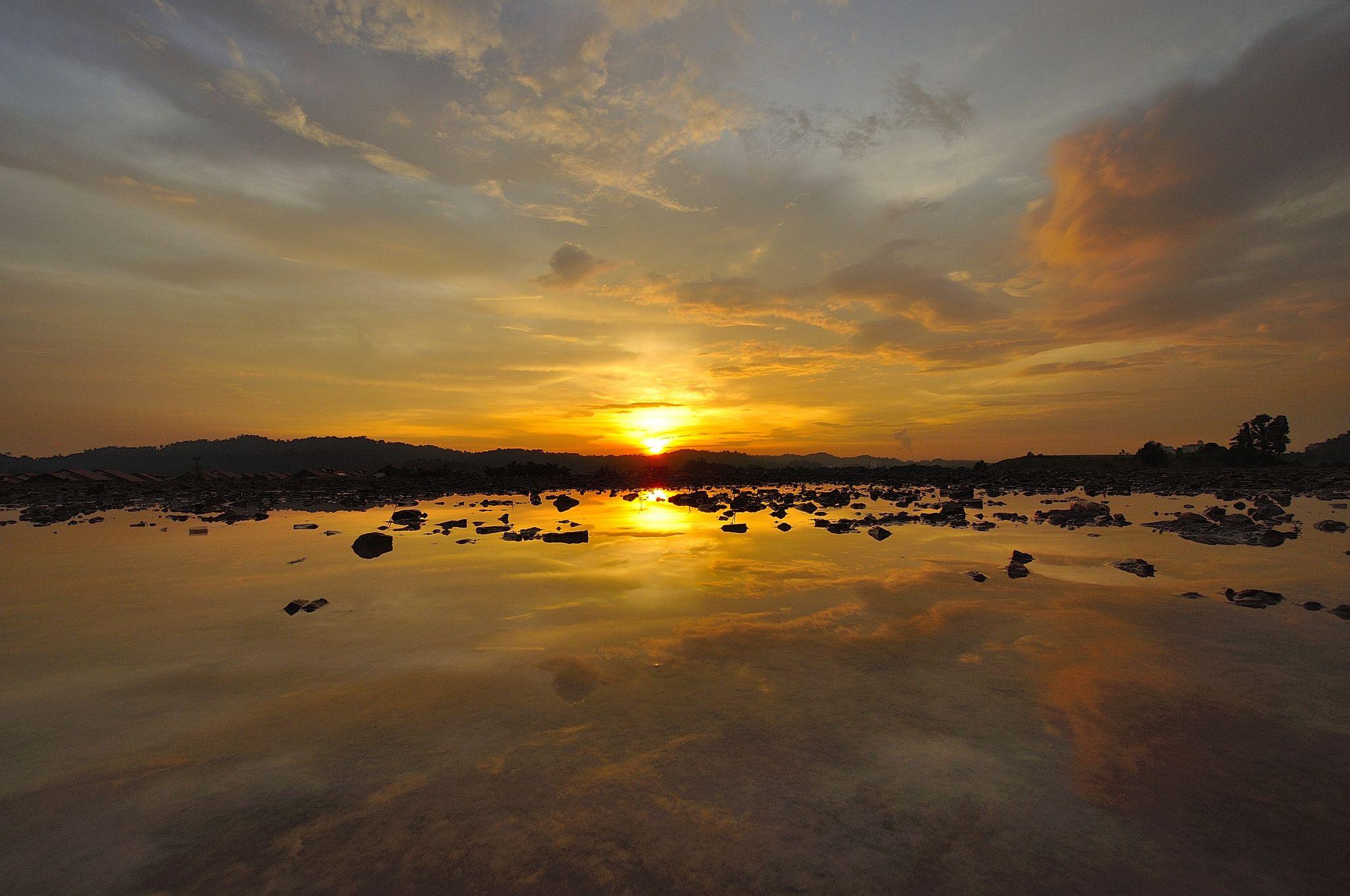 Lake of Puchong, Selangor, Malaysia