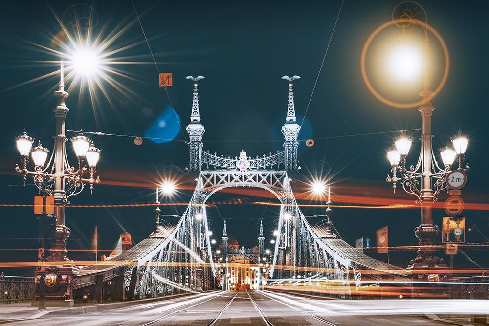 Liberty Bridge Buda, Hungary