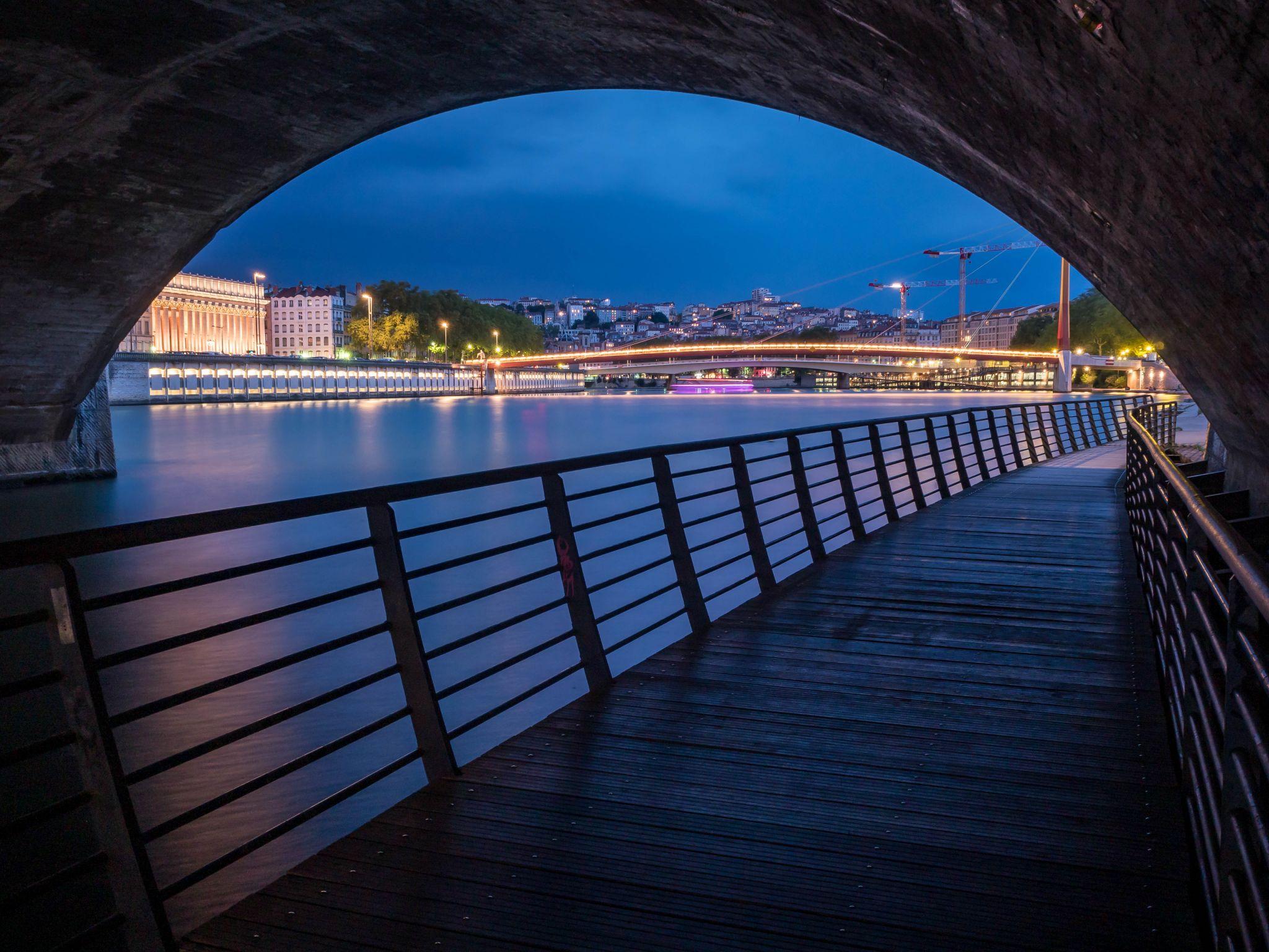 Lyon - Pont Bonaparte, France