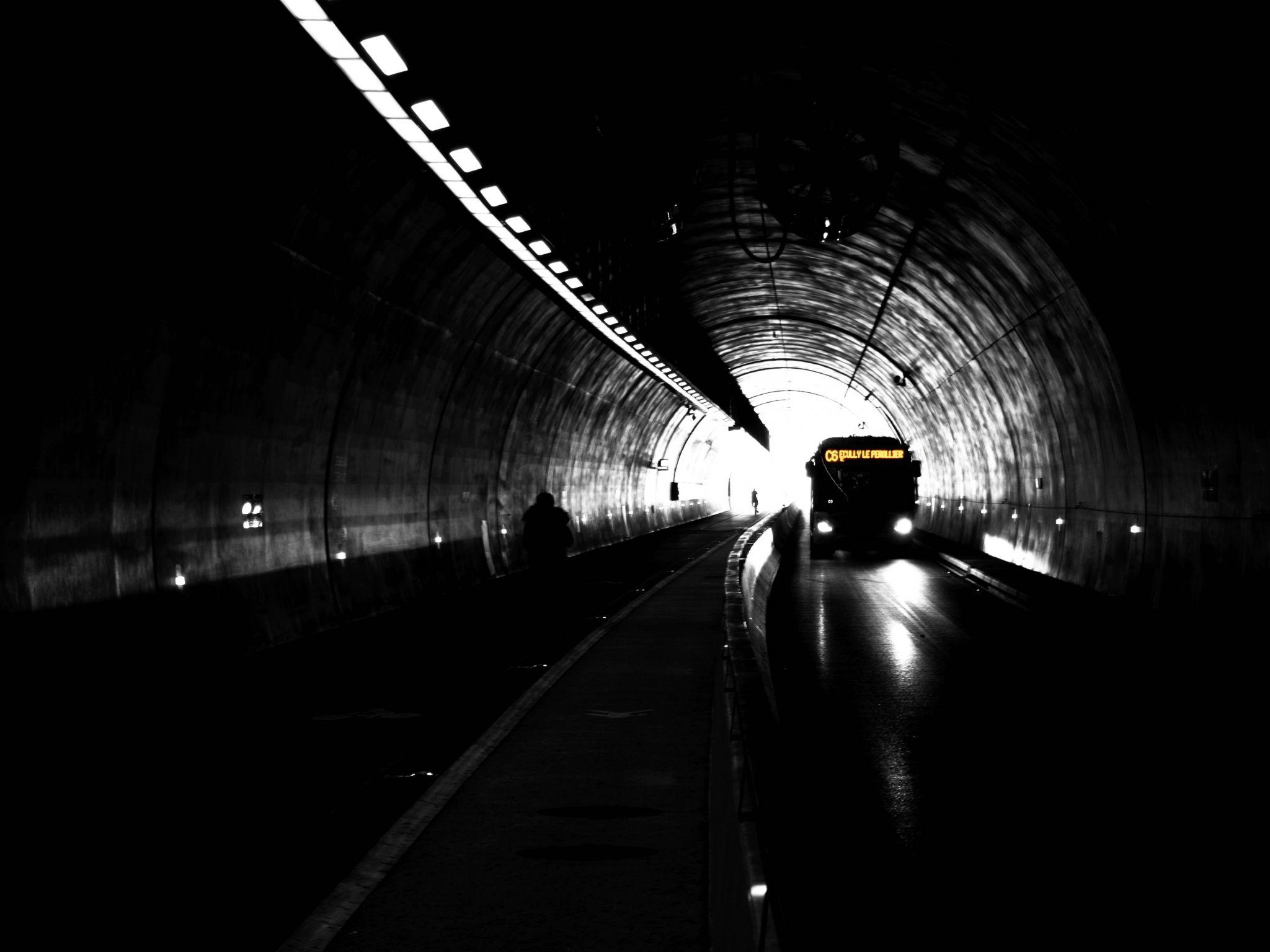 Lyon - Tunnel de la Croix-Rousse, France