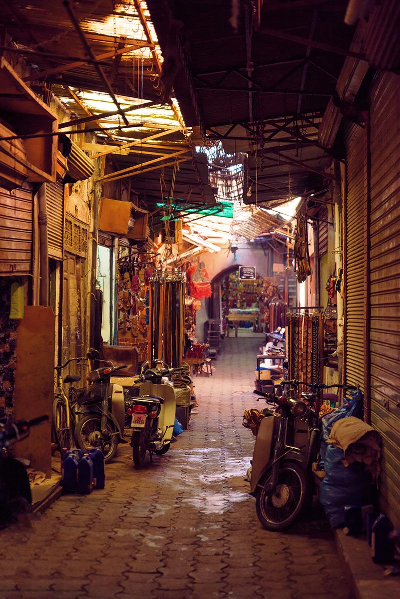 Marrakesh, medina, Morocco