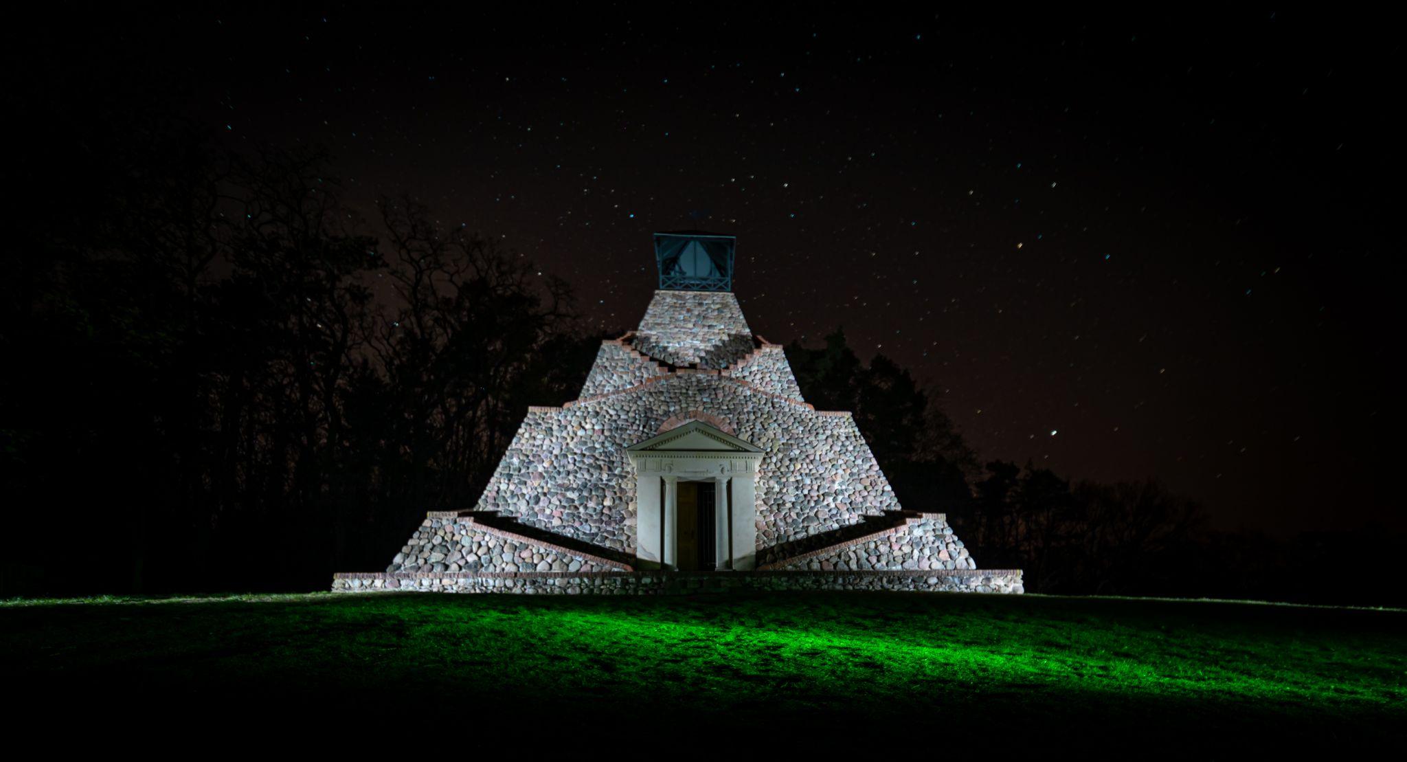 Pyramid Garzau, Germany