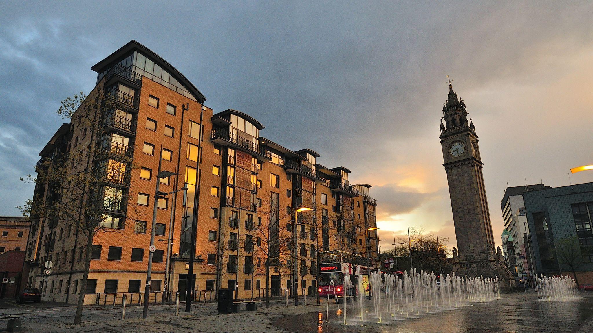 Queen's Square, Belfast., United Kingdom