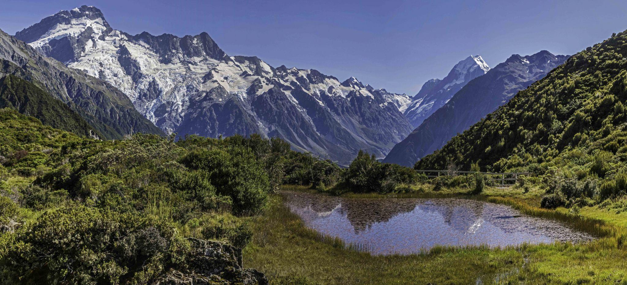 Red Tarns, New Zealand