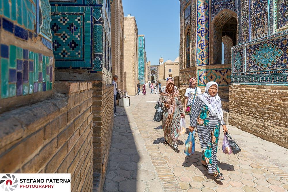 Shahi Zinda Nekropole, Samarkand, Usbekistan, Uzbekistan