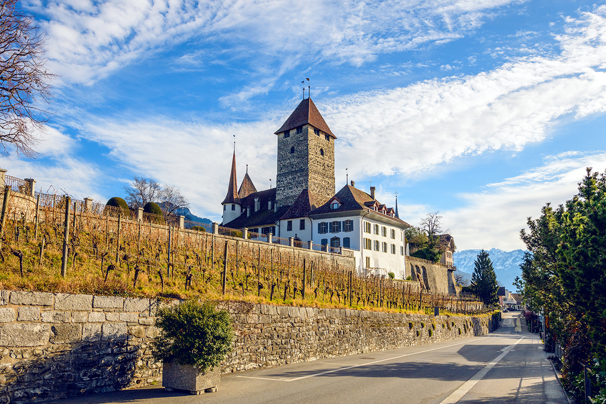 Spiez castle, Switzerland