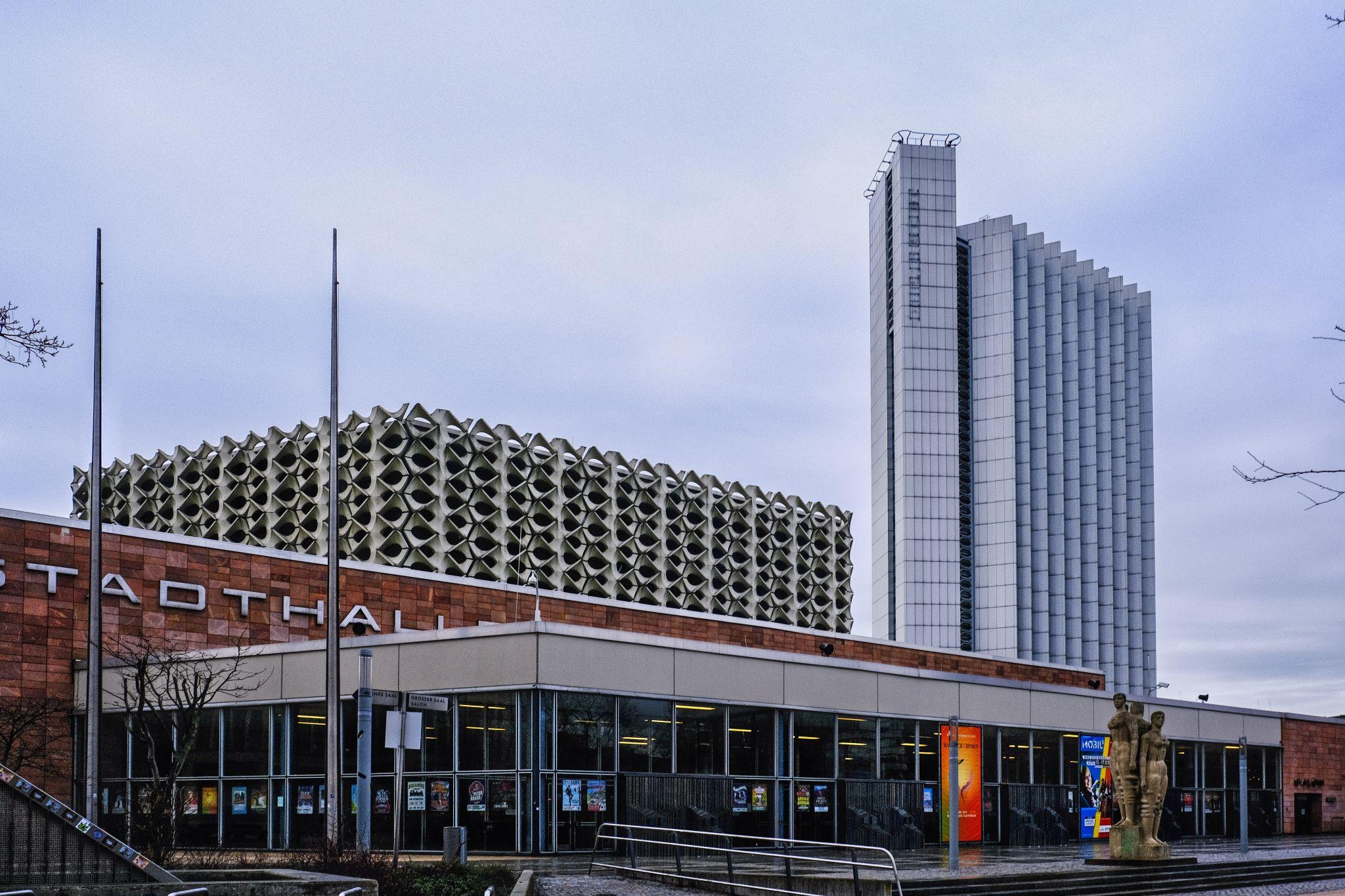 Stadthalle und Interhotel Karl-Marx-Stadt, Germany