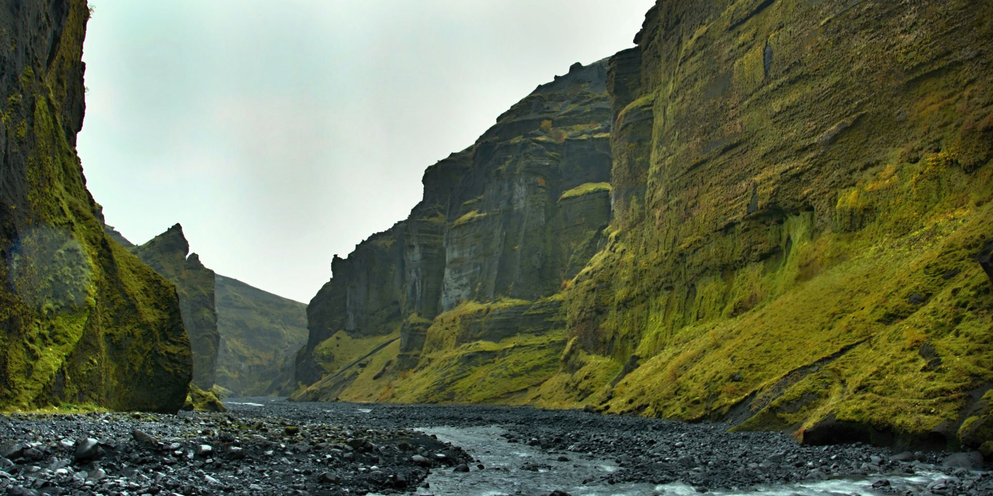 Stakkholtsgja canyon, Iceland