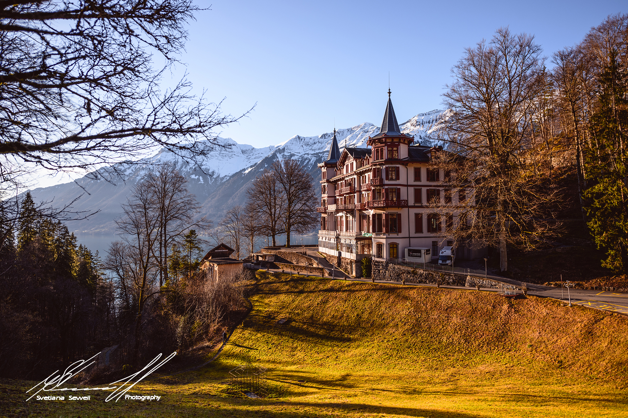The Grandhotel Giessbach, Switzerland