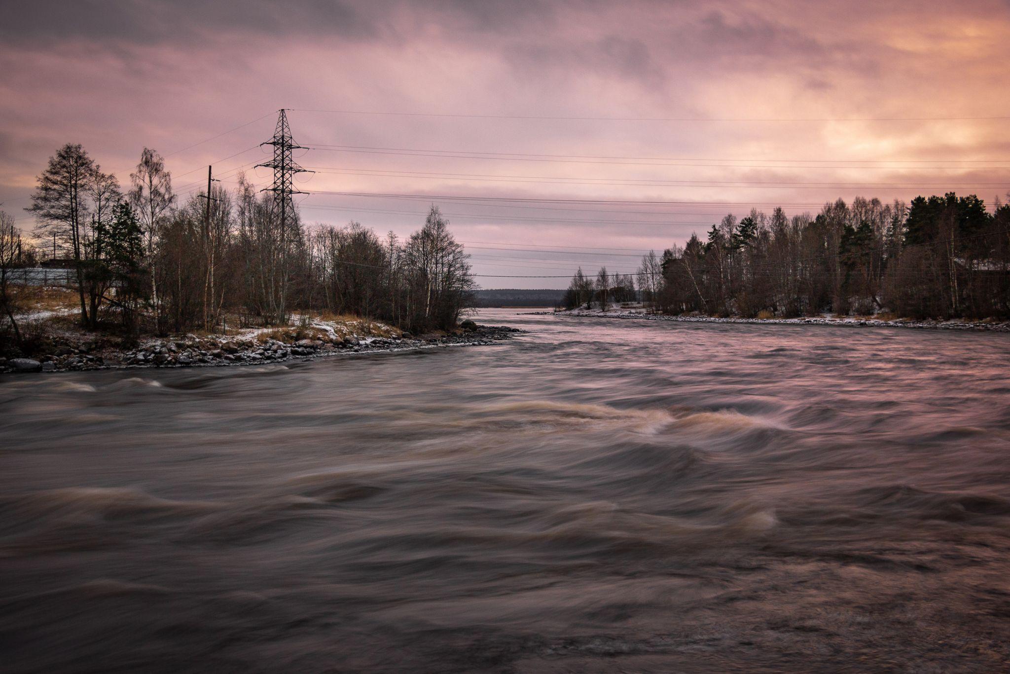 Thresholds on the Vuoksa River, Leningrad Region, Russian Federation