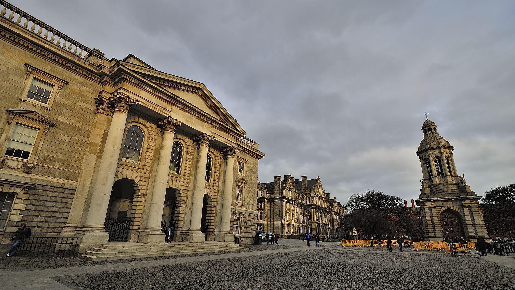 Trinity College In University Of Dublin, Ireland