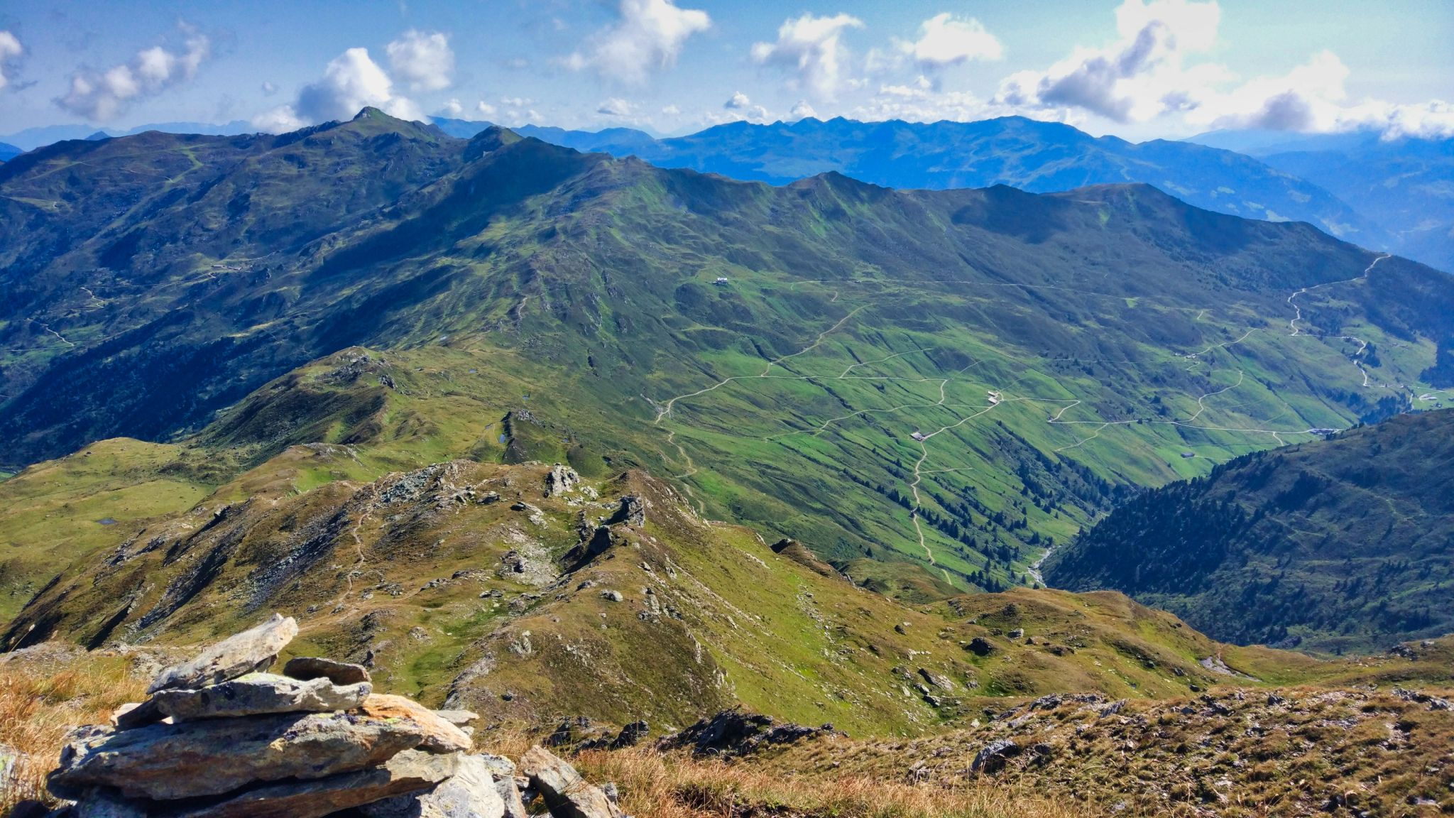 View from Rosskopf, Austria