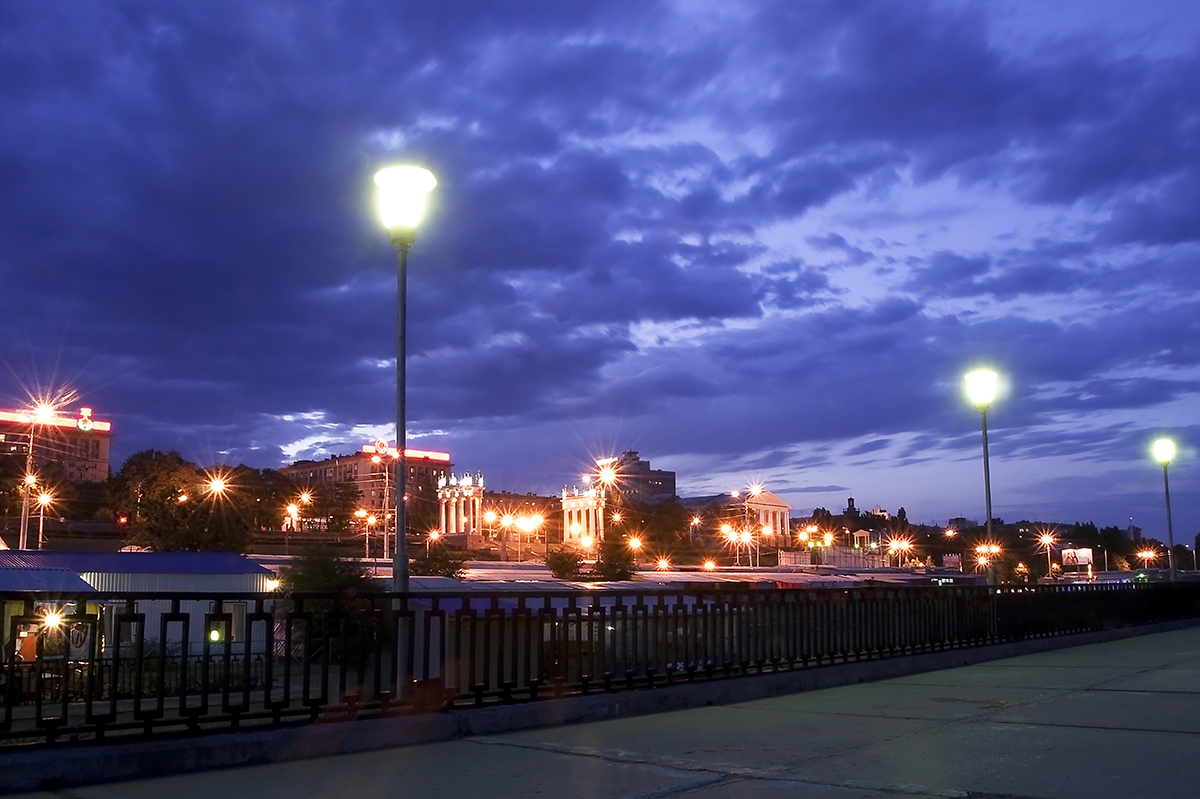 Volgograd lights, Russian Federation