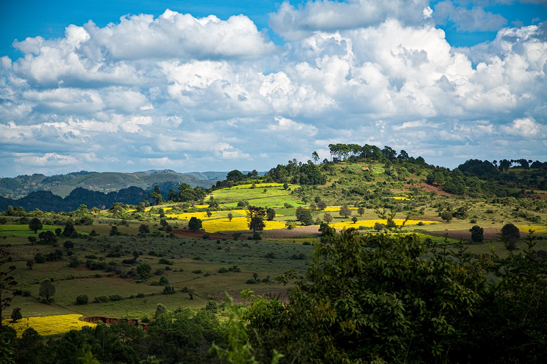 Von Kalaw zum Inlesee, Myanmar