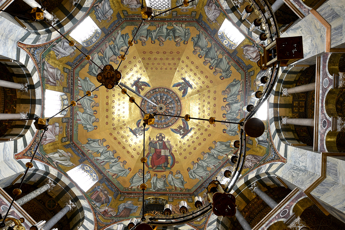 Aachen Cathedral Interior, Germany