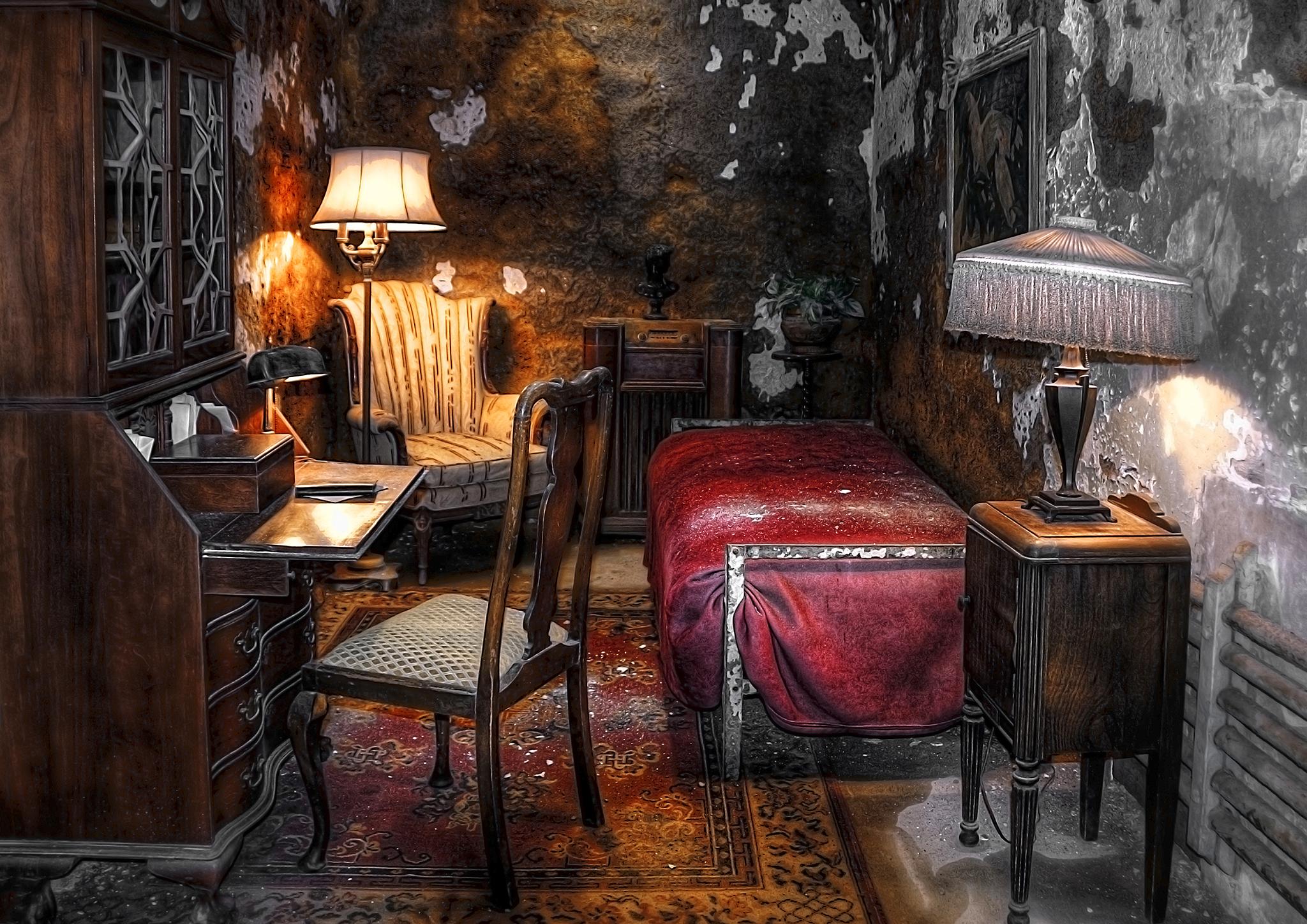 Al Capone cell in Philadelphia, USA
