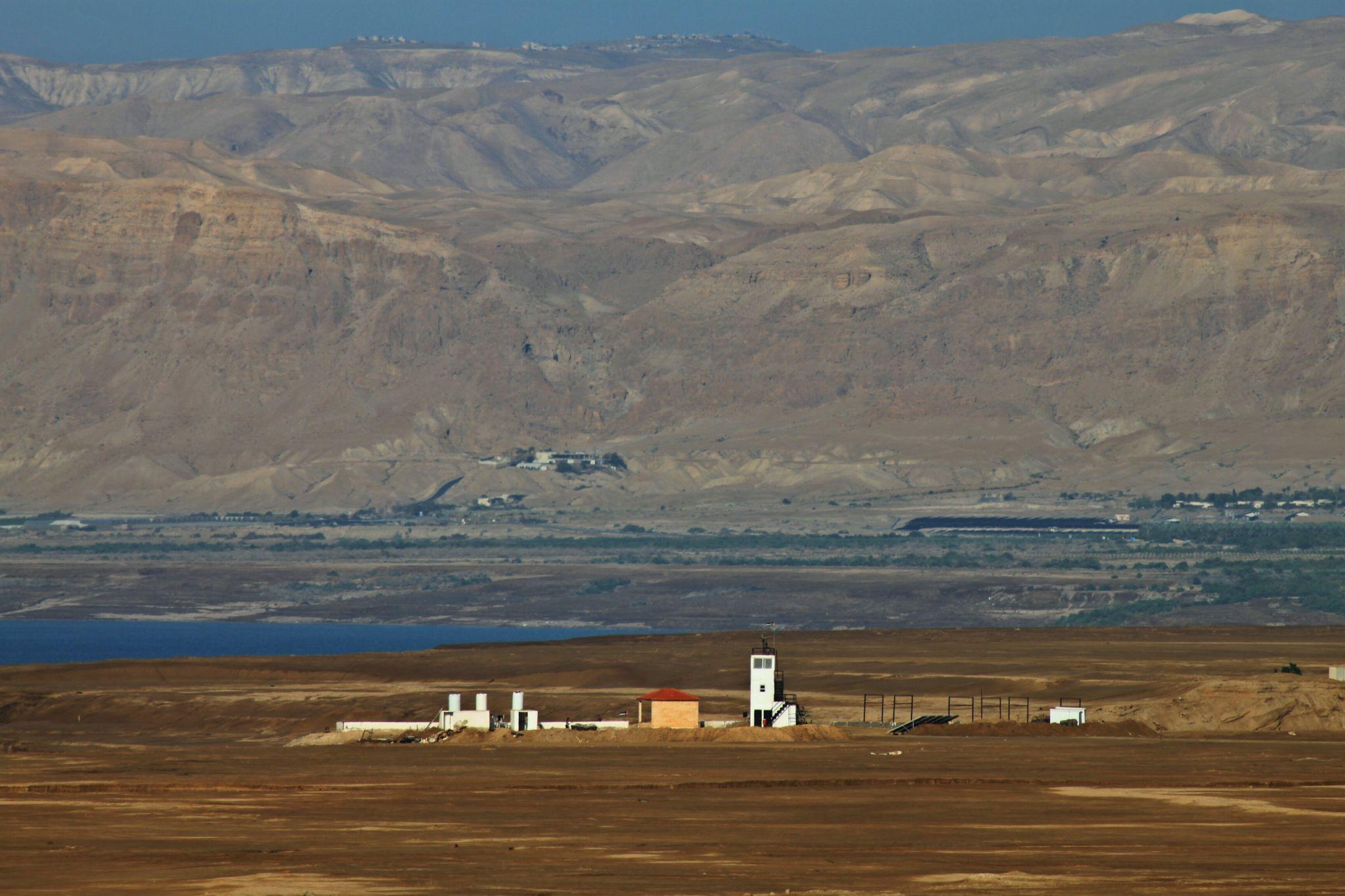 am Toten Meer, Jordan