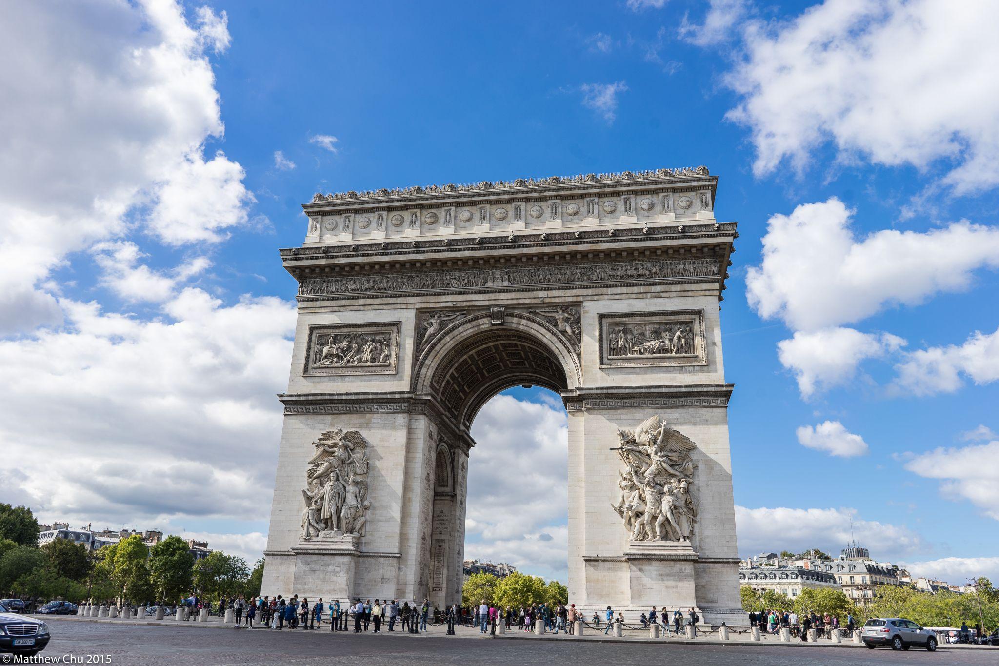 Arc de Triomphe, Paris, France, France