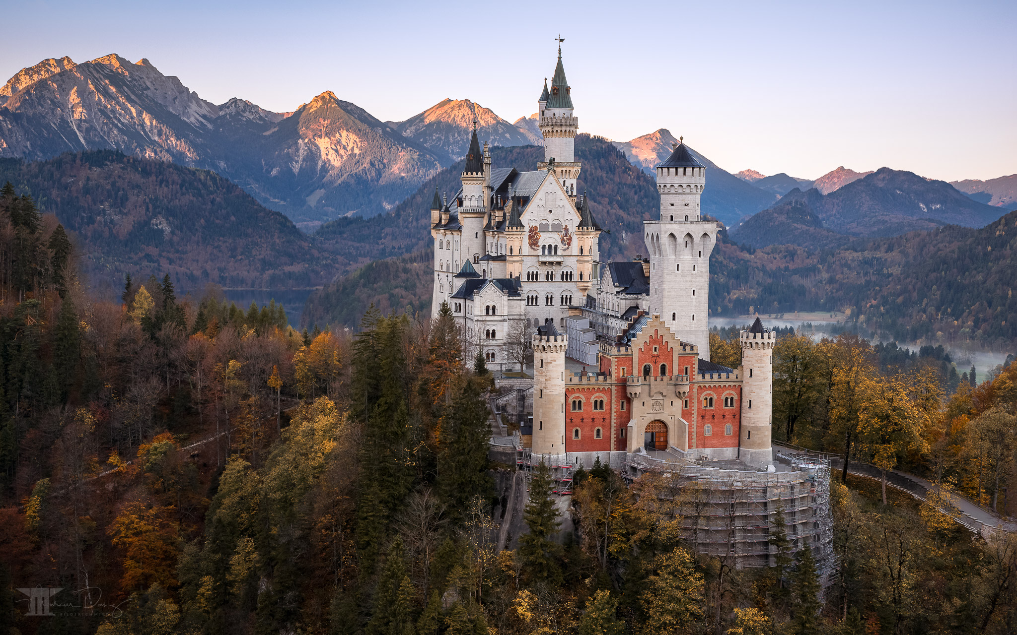Best view of Neuschwanstein Castle I, Germany