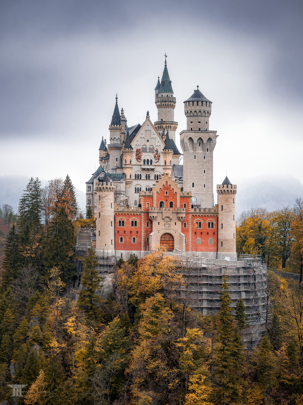 Best view of Neuschwanstein Castle II, Germany