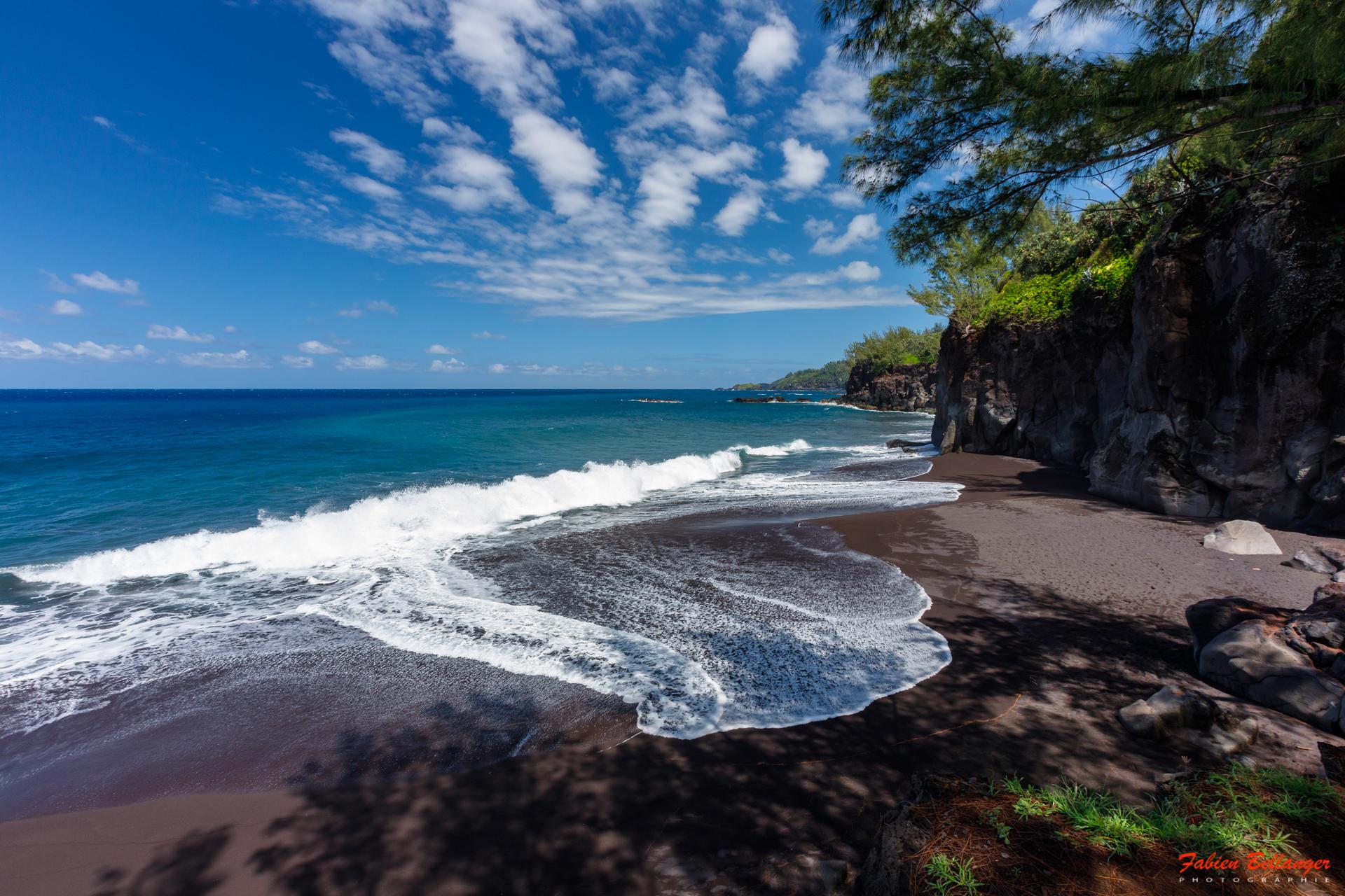 Black Sand Beach, Reunion