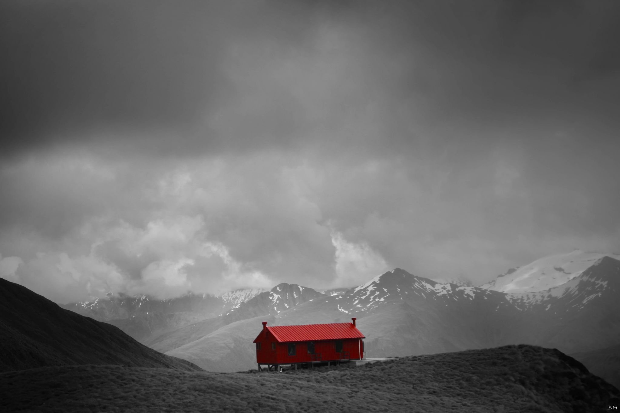 Brewster Hut, New Zealand