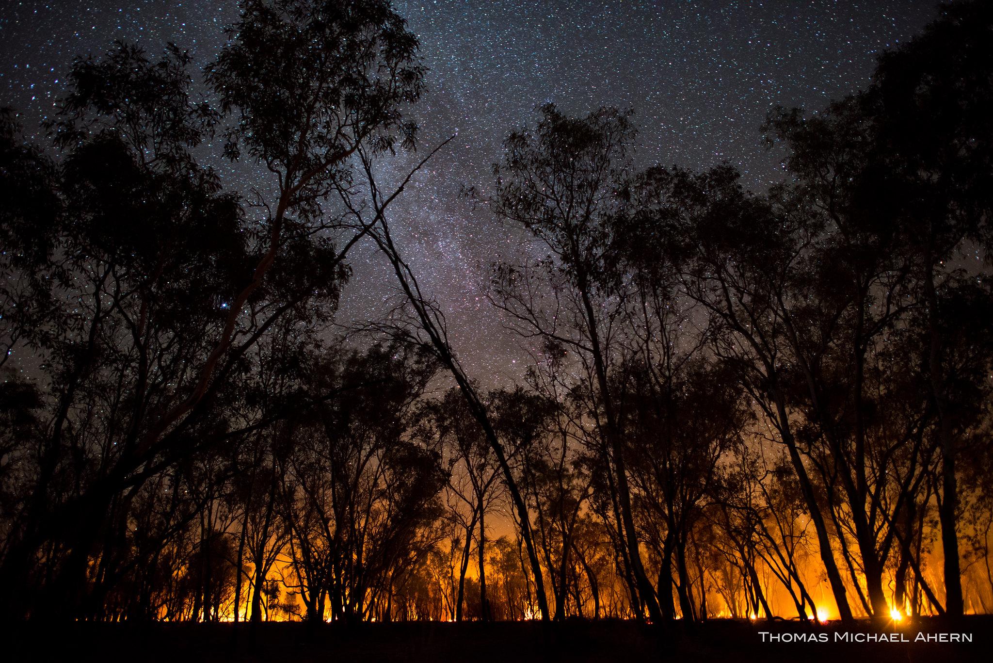 Burning Outback, Australia