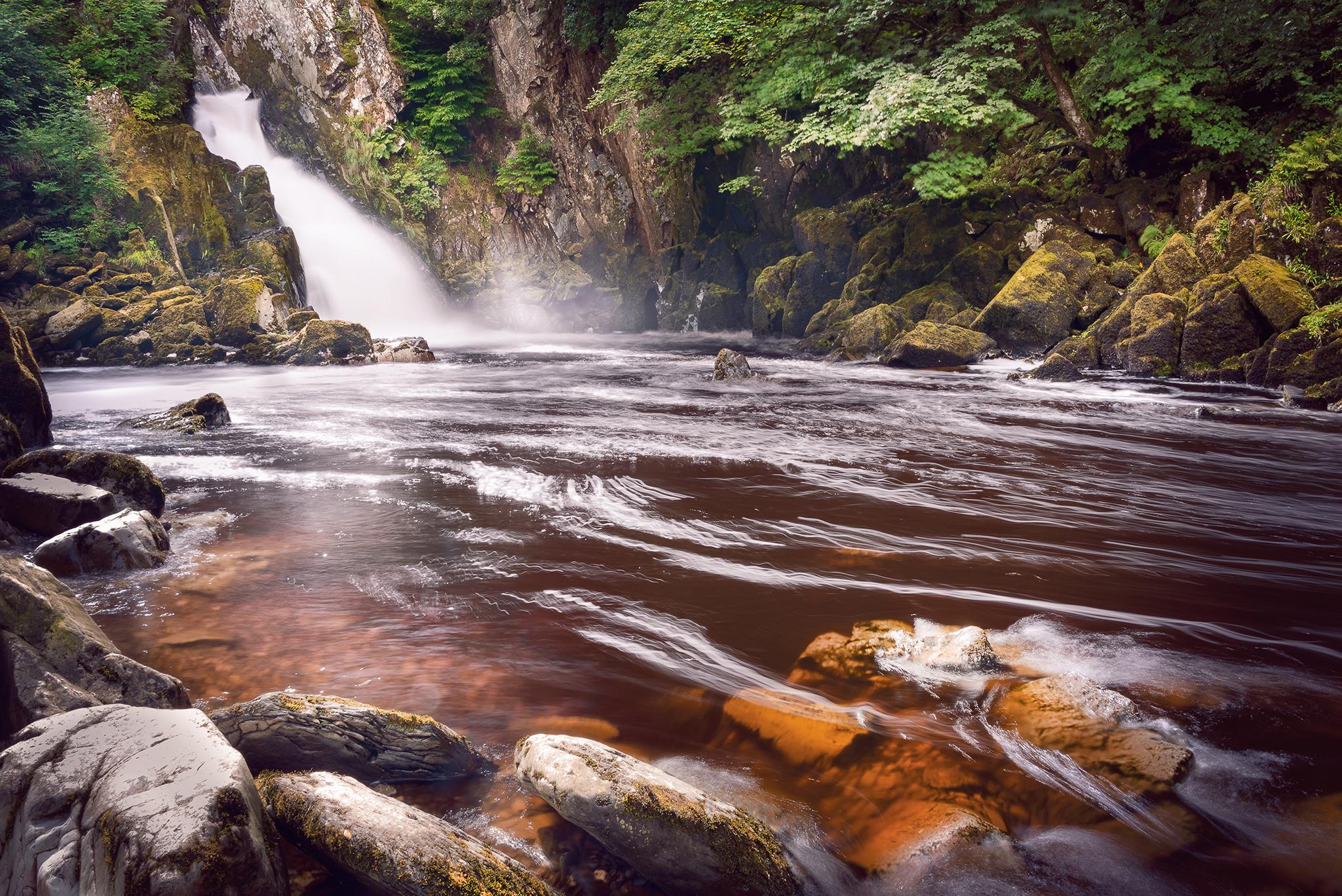 Conwy Falls, United Kingdom