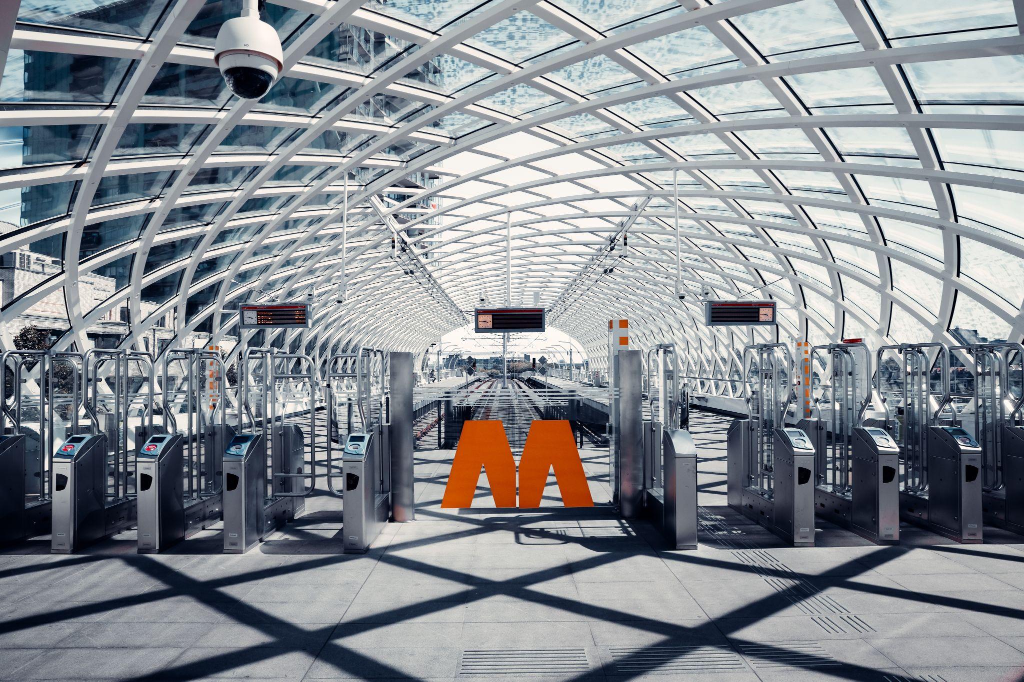 Den Haag CS Tram Station, Netherlands