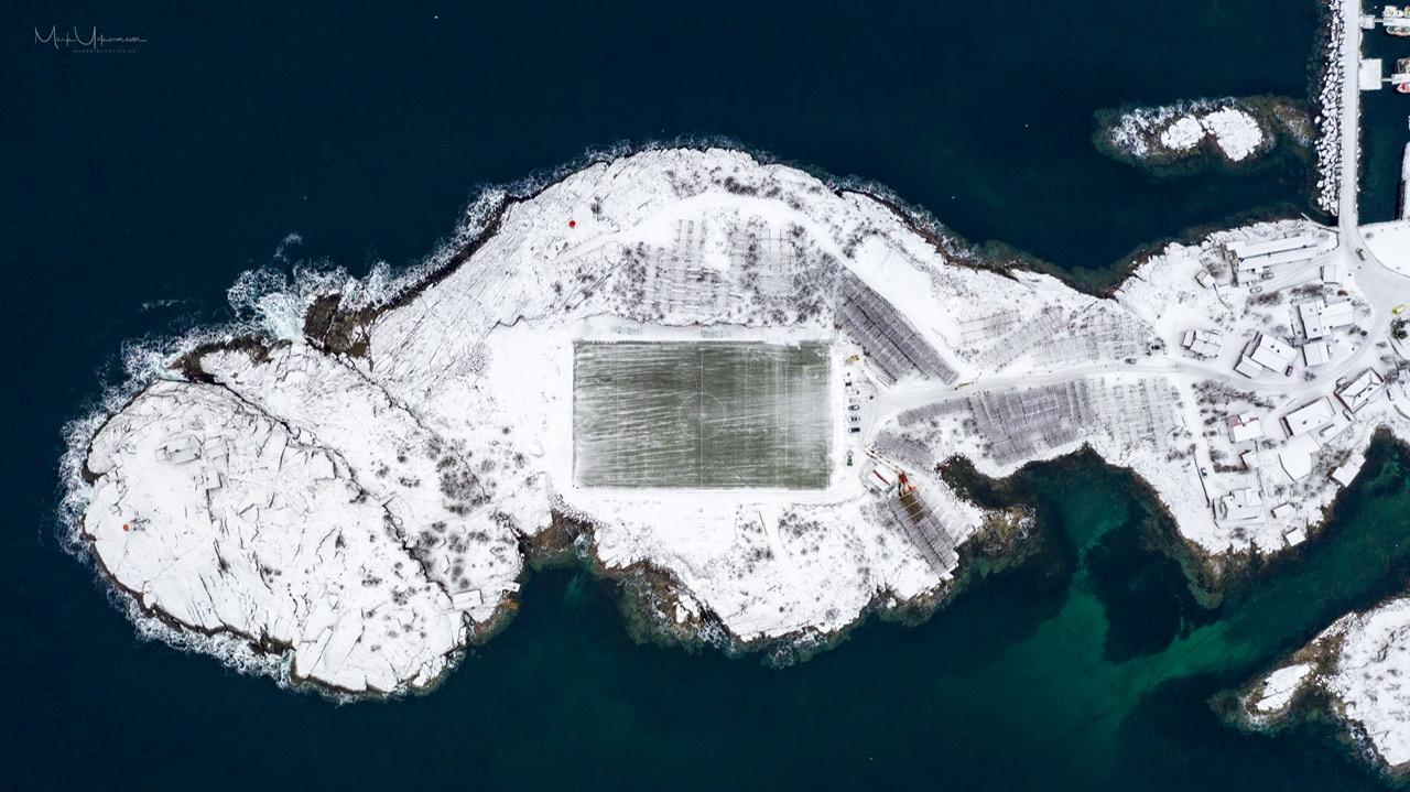 Henningsvær Football Stadion, Norway