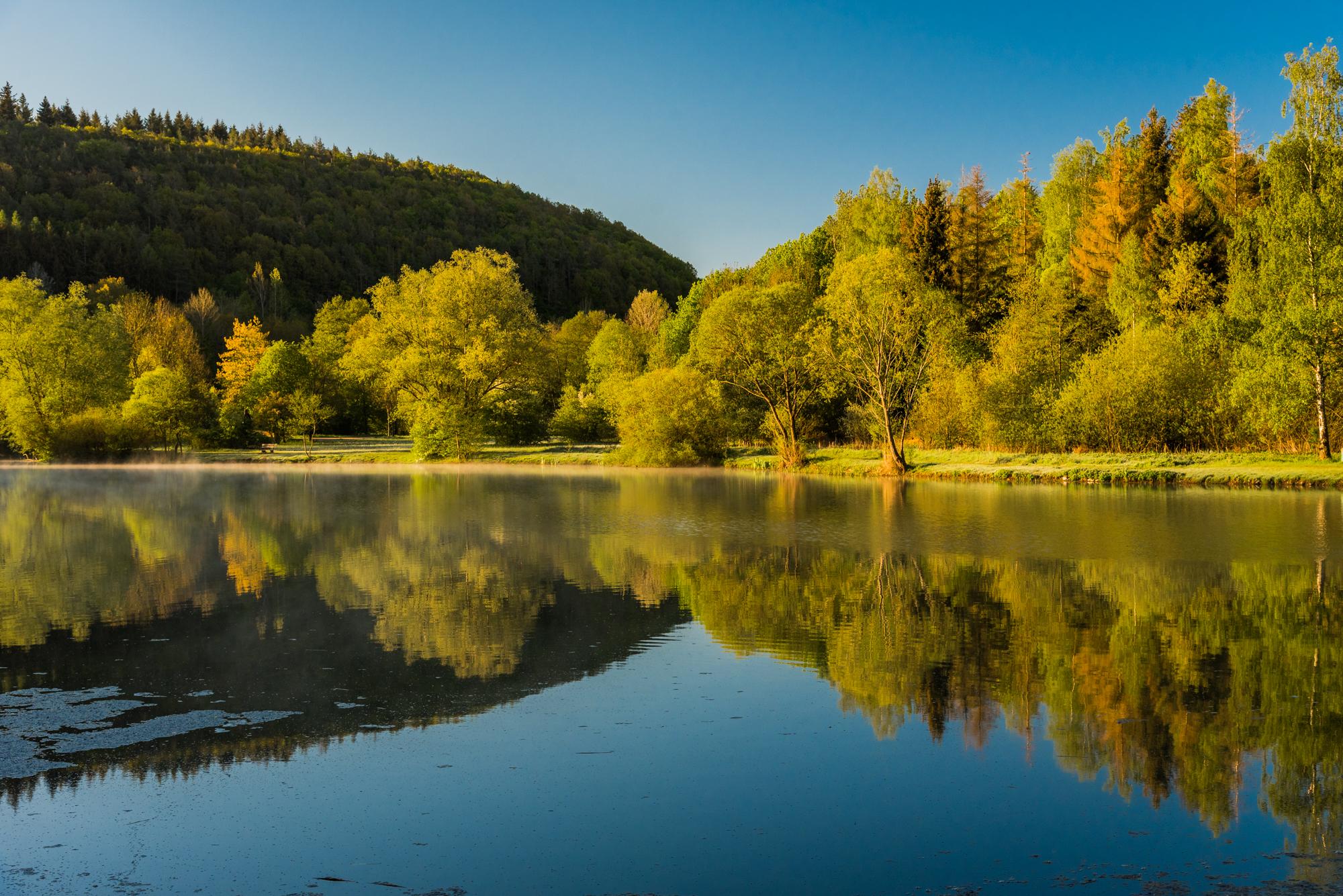 Hochwasserrückhaltebecken Eicherscheid, Germany
