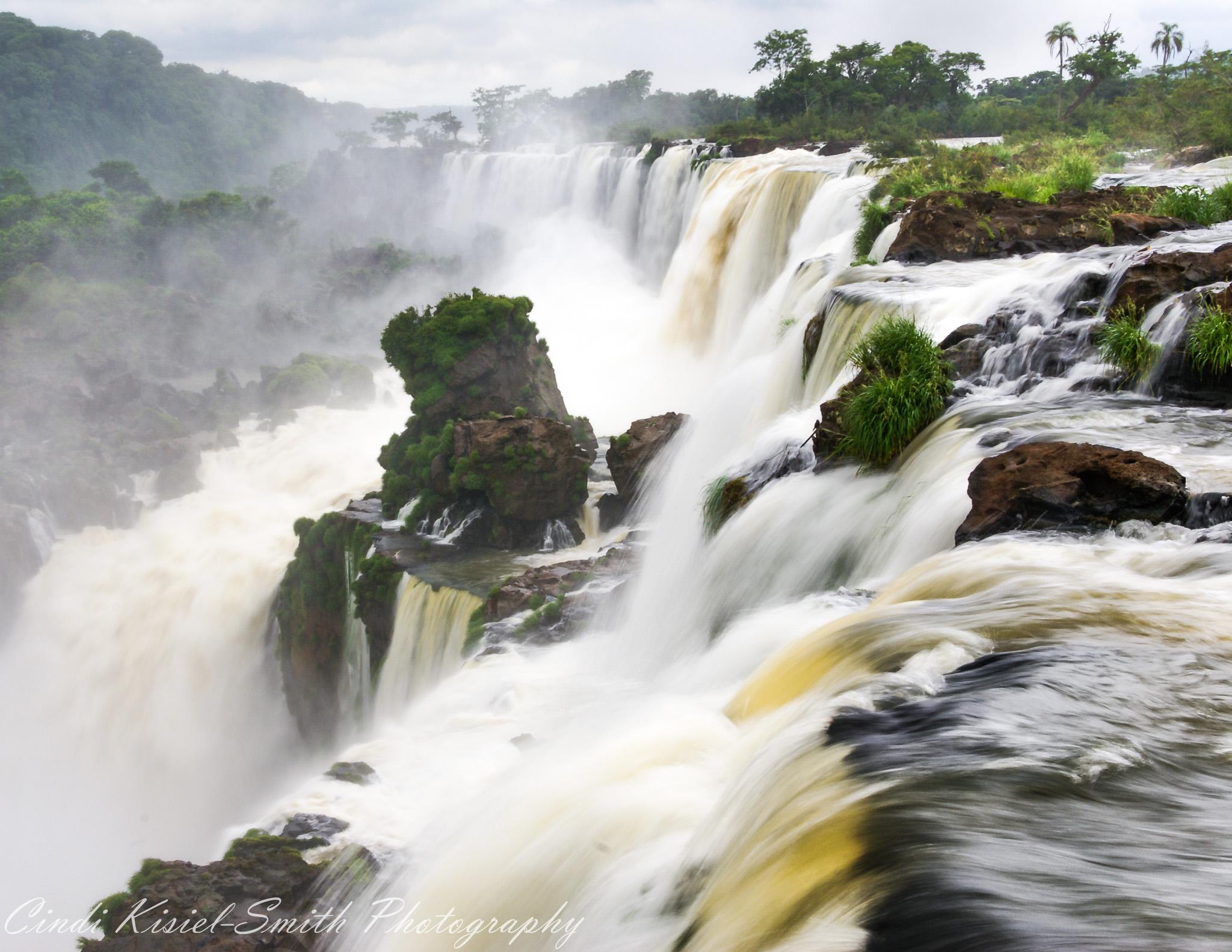 Iguazu Falls Argentina Side, Brazil