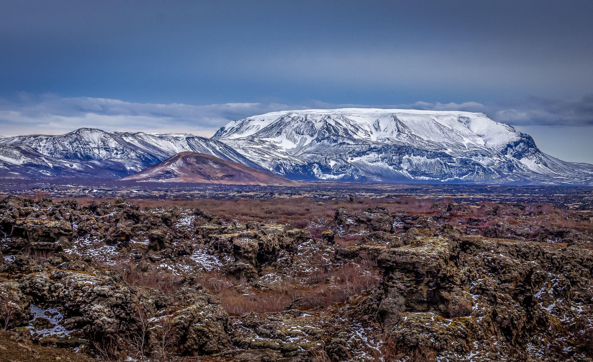 Lava Fields near Lake Myvatn, Iceland