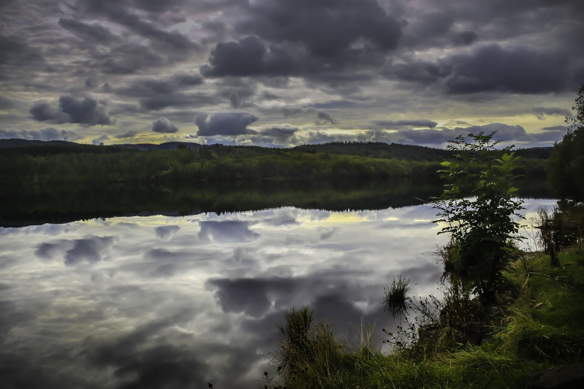 Loch Venachar, Scotland, United Kingdom