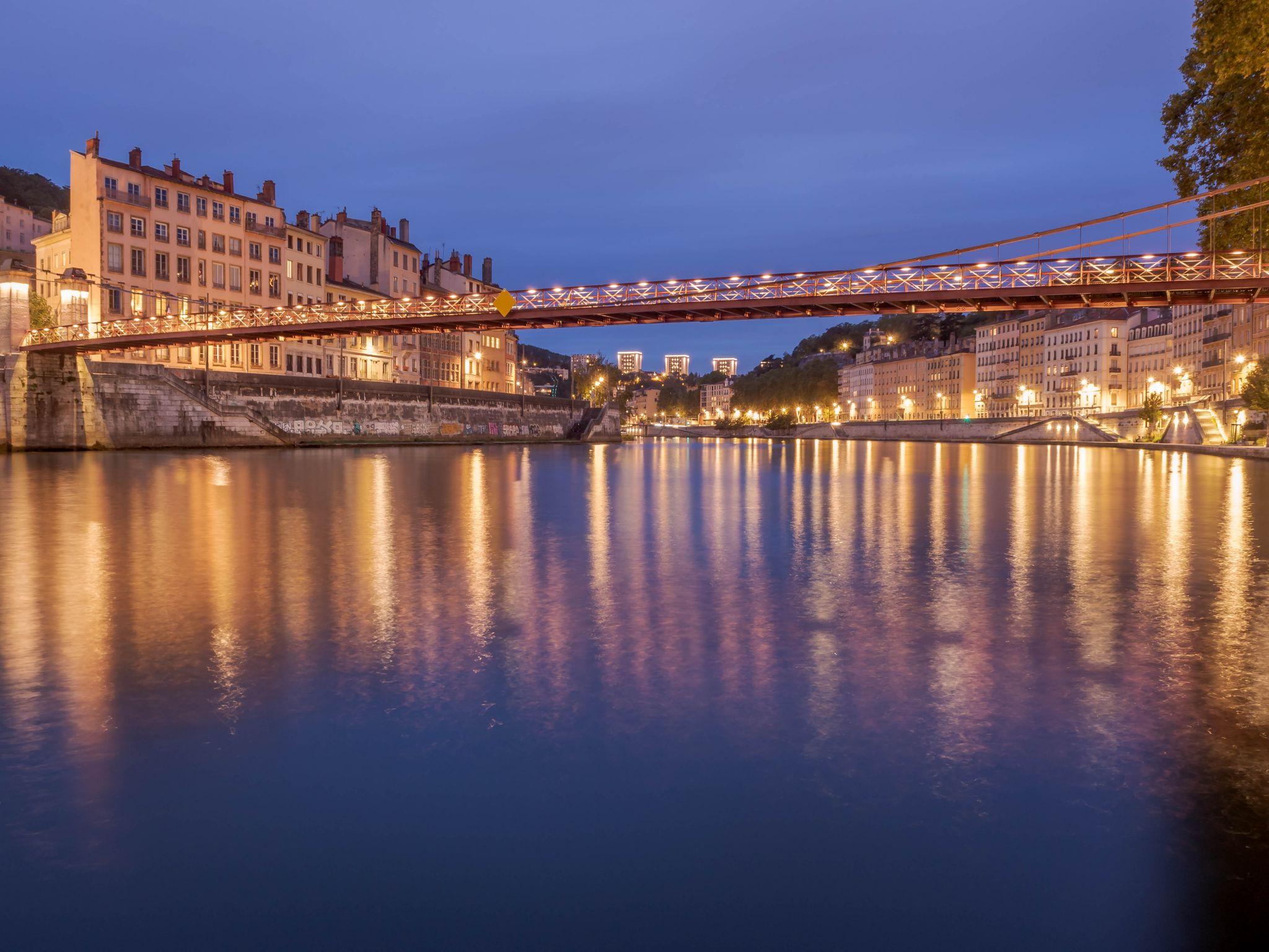 Lyon - Saône de Saint-Vincent, France