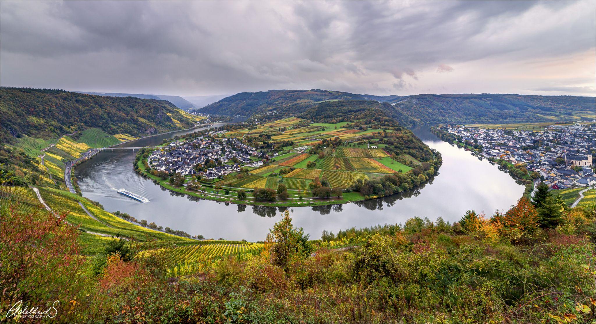 Mosel Riverbend near Kröv, Germany
