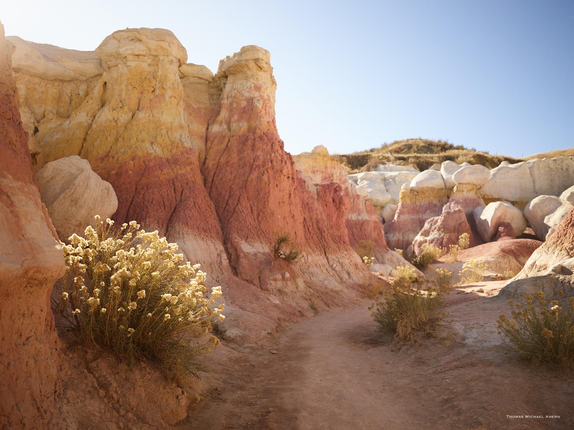 Paint Mines near Colorado Springs, USA