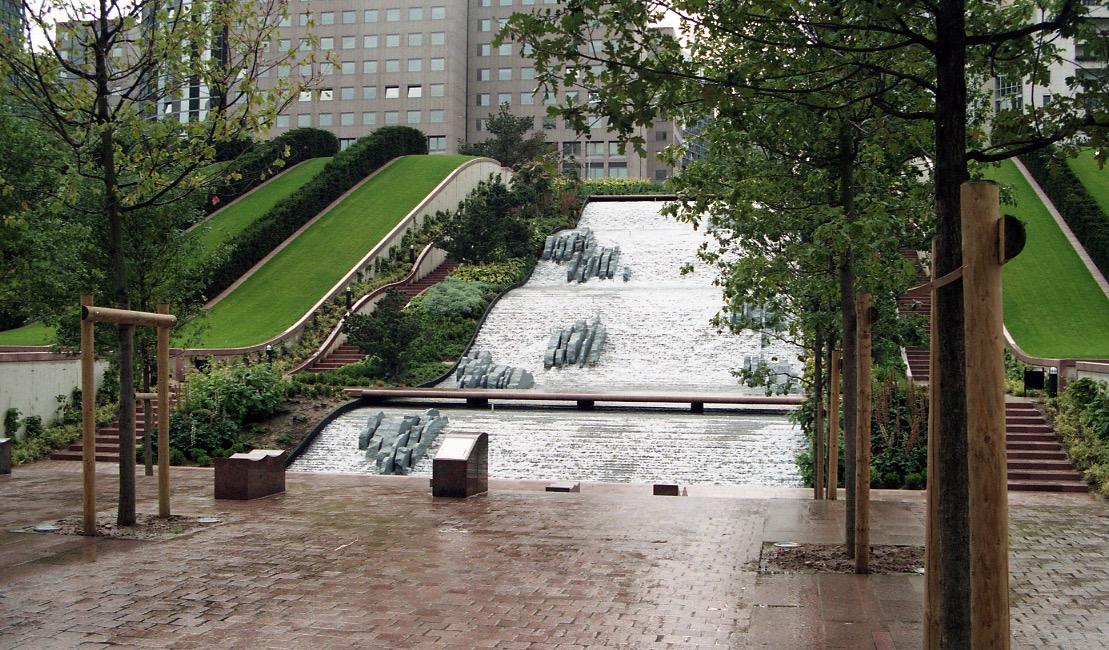 Paris, La Defense, Parc Diderot, France