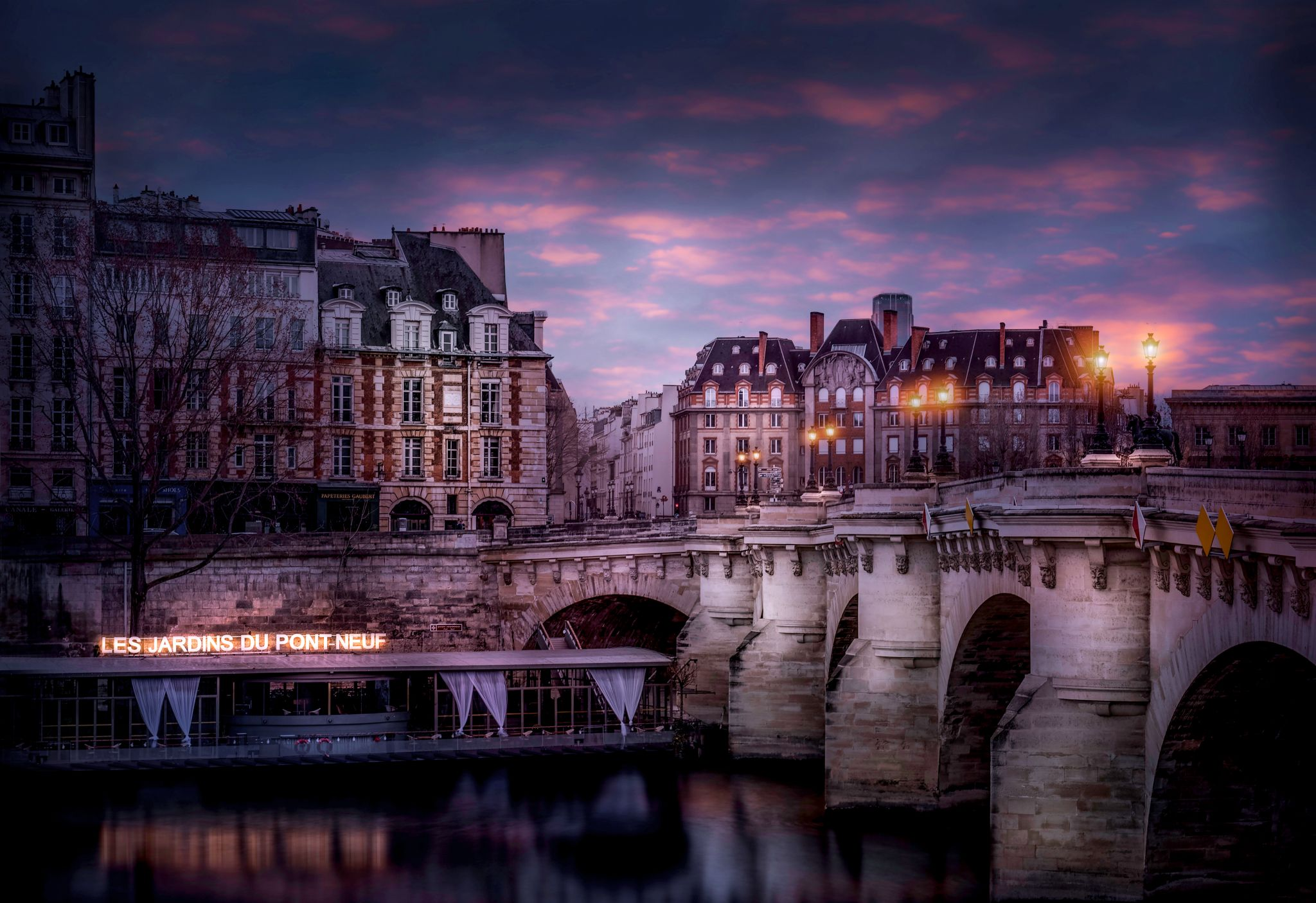 Pont Neuf Composition, France