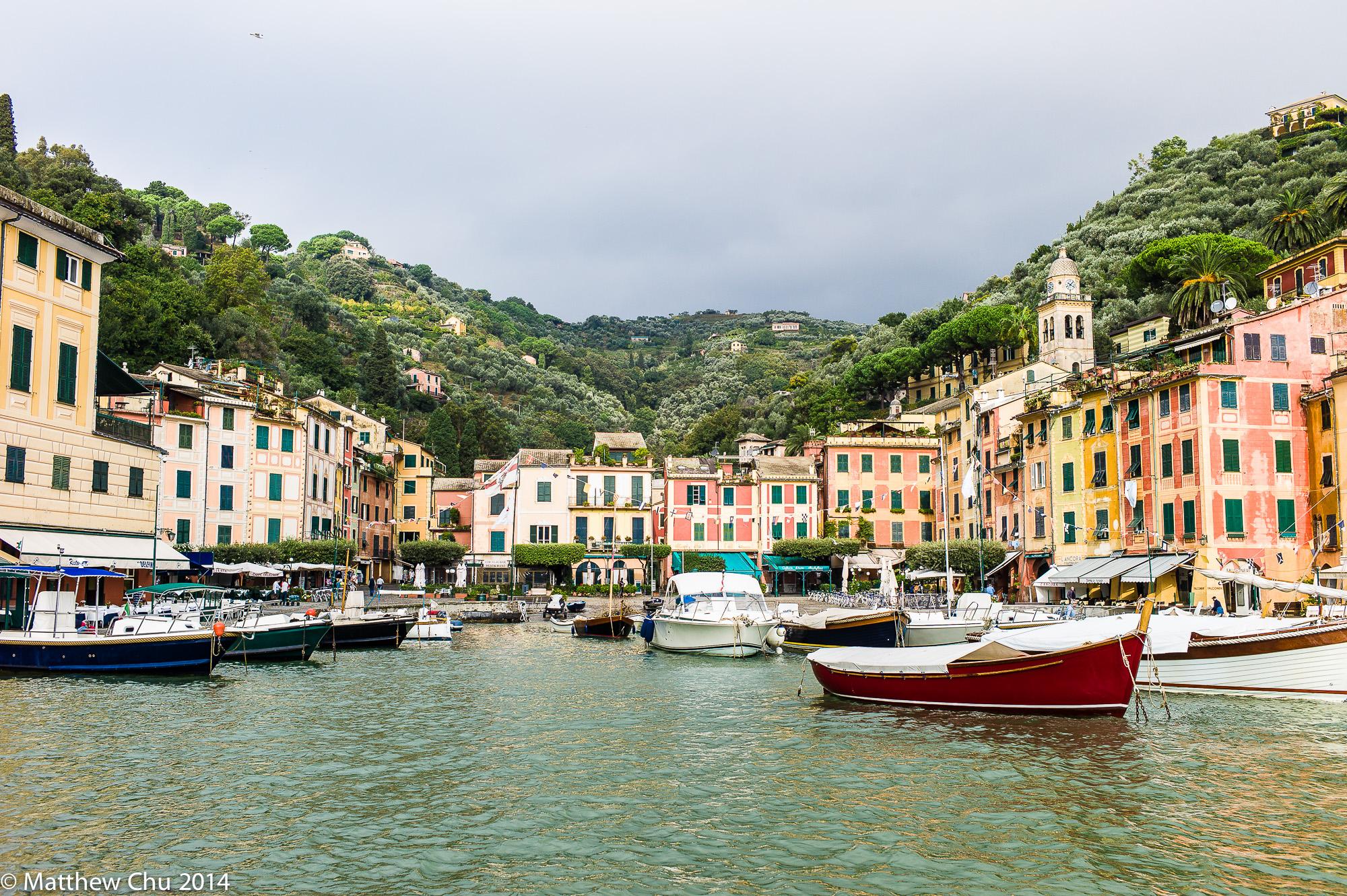 Portofino promenade, Italy