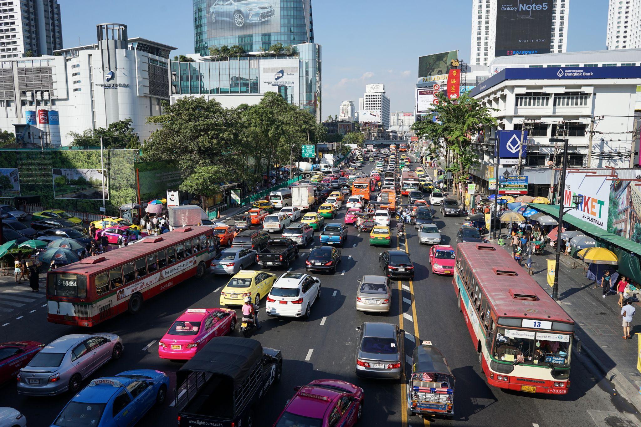 Ratchaprasong SkyWalk, Bangkok ,Thailand, Thailand
